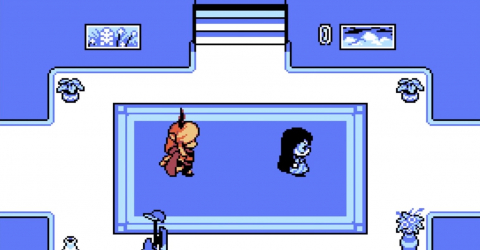 Undertale artist releases free game Escaped Chasm