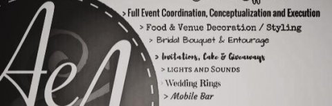 AeVents and Associates - Your Event Solutions Team