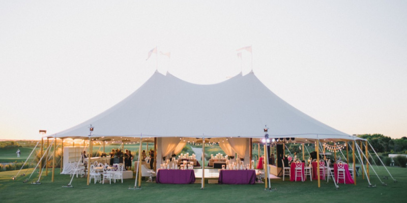 The Only Tent to Try When You're Having an Outdoor Wedding