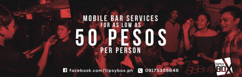 Tipsy Box Mobile Bar