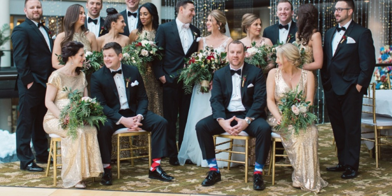 How to Add Color and Greenery to Your Winter Wedding