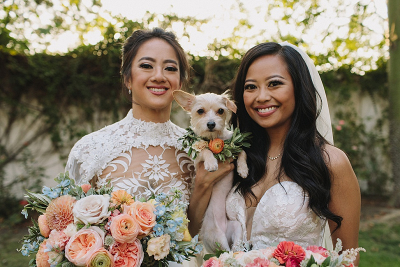 Our Awesomely Queer $35K LA Botanical Garden Party | A Practical Wedding