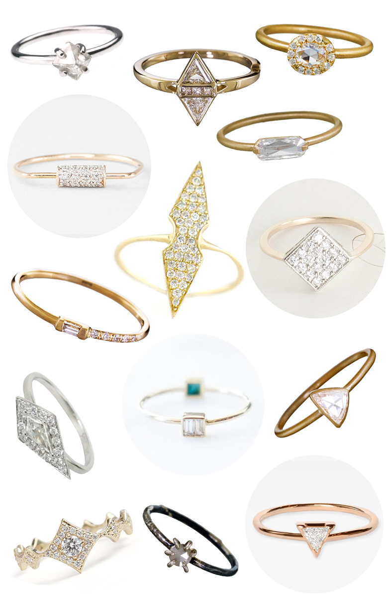 50 Beautiful Small Diamond Engagement Rings That Prove Size Doesn't Matter