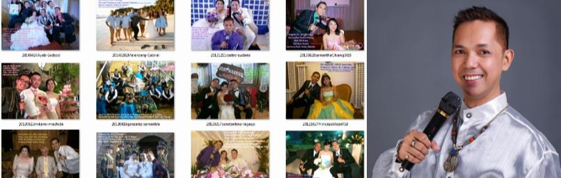 Alexyz Arcilla- Professional Wedding/Event Emcee & Singer