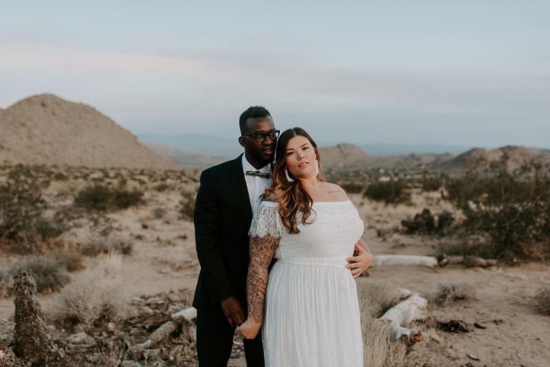 Our Intimate $800 Sunrise Joshua Tree Elopement | A Practical Wedding