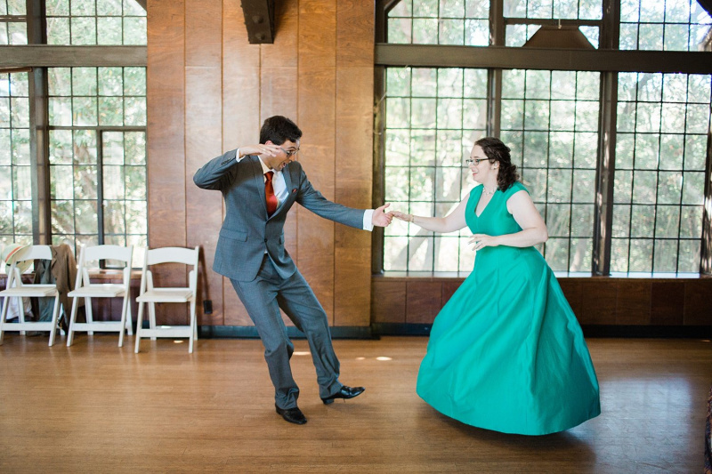 Our $40K Egalitarian, Dance-Filled Midday Wedding