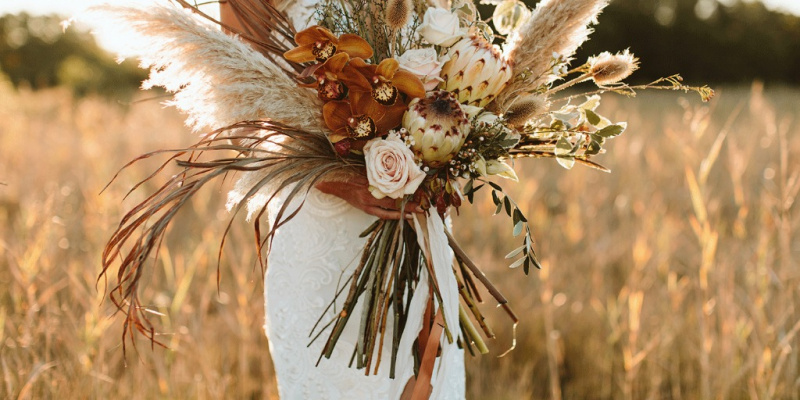 How to Style a Fall-Inspired Boho Wedding