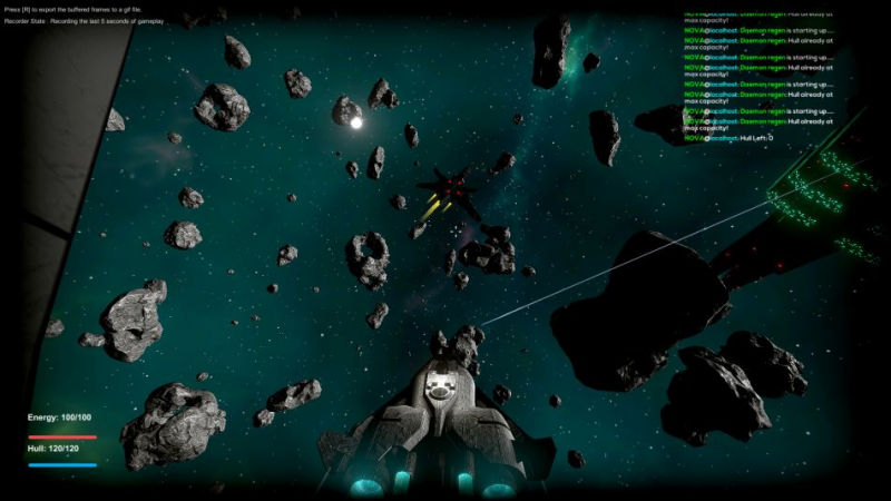 Extreme 3D space shooter 'Space Mercs' that's developed on