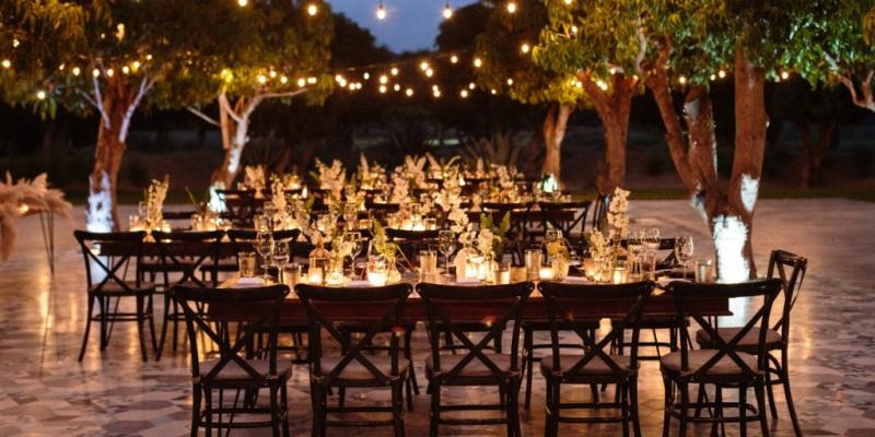 Chic Tropical Destination Wedding in White