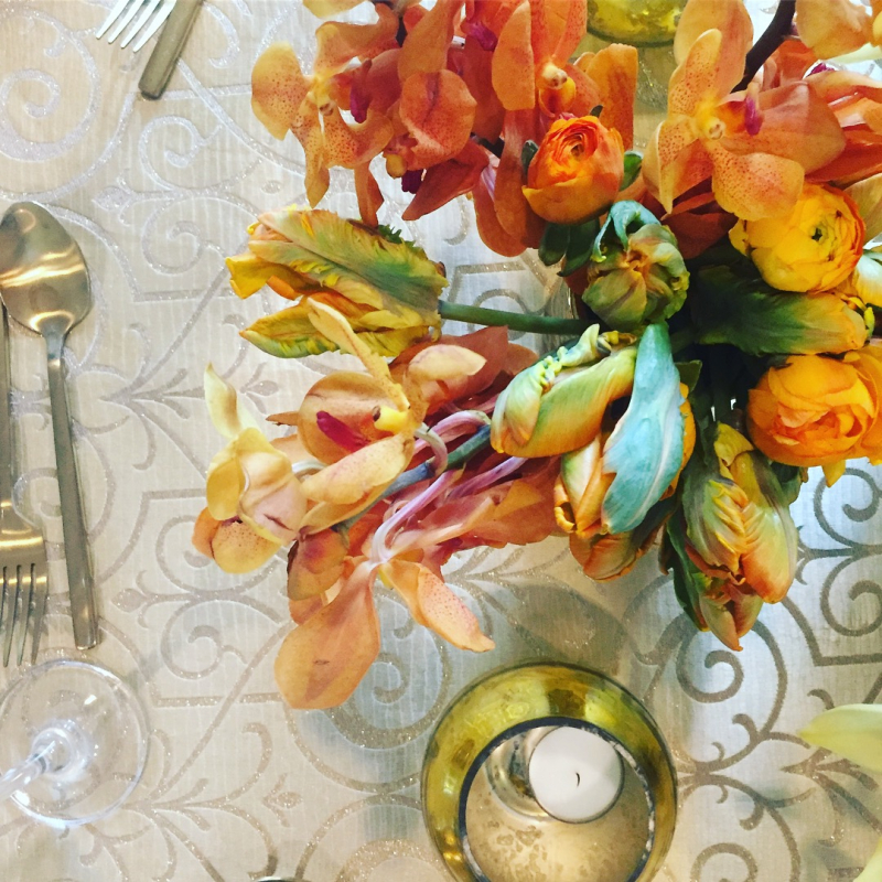 Orange Wedding Flowers - Elegance & Simplicity, Inc. - Wedding Planning, Flowers