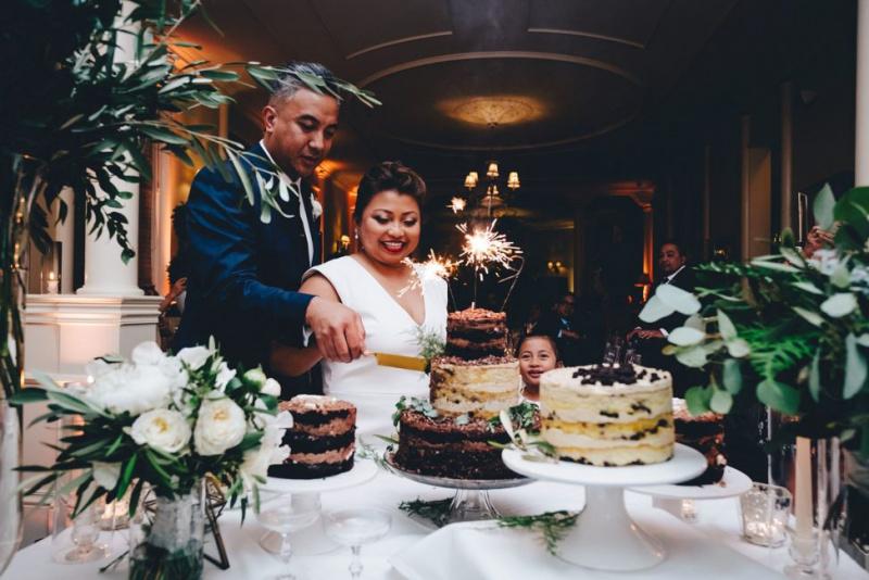 This Stylish $11K San Francisco Wedding Celebrated Family (With Extra Cake)