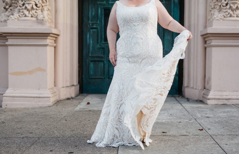 My Friend's Mom Is Going To Shit-Talk Her Body During Wedding Dress Shopping | A Practical Wedding