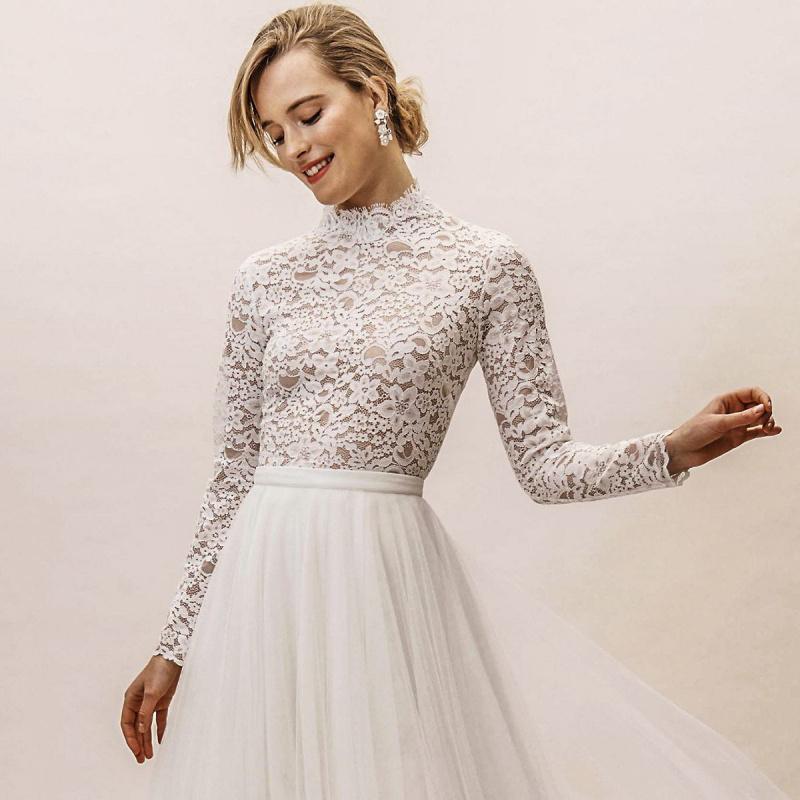 BHLDN's Effortlessly Chic Spring 2019 Wedding Dresses | Wedding Inspirasi