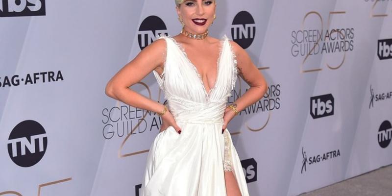 Lady Gaga's Dior Leg Slit Is the Stuff of 'I Do' Dreams