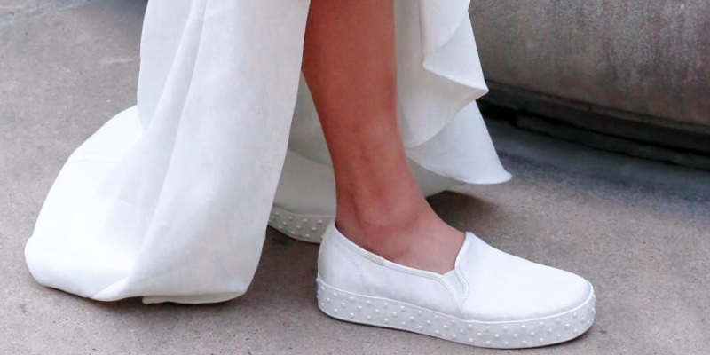 Wedding Sneakers for Brides Who Still Say They Want a Heel