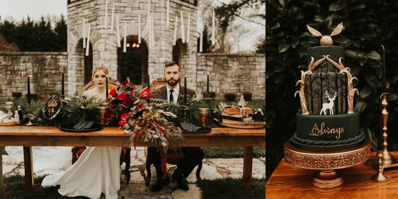 Fall Is For Harry Potter Themed Weddings