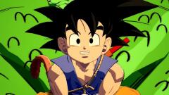 Kid Goku brings over...