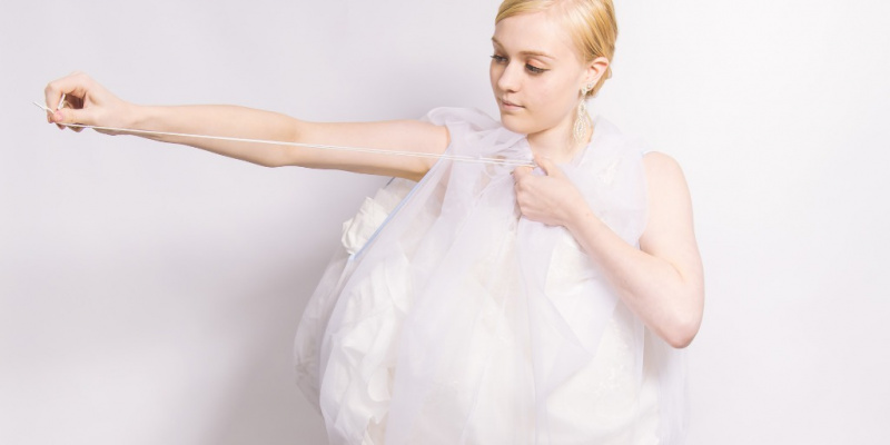 Going Pee Might Be The Hardest Thing You Do On Your Big Day