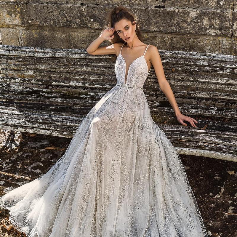 "c3e4ca872aa8 ... neckline heavily embellished bodice hem princess fit and. Birenzweig 2019  Wedding Dresses — ""Paris Blossom"" Bridal Collection | Wedding Inspirasi"
