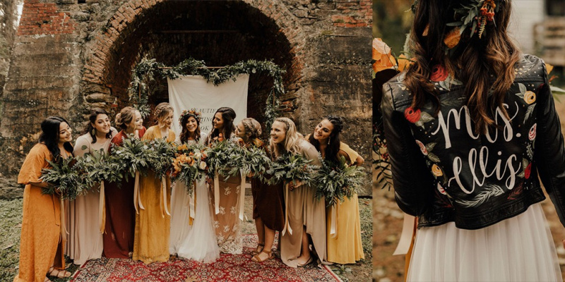 A Boho DIY Wedding You Won