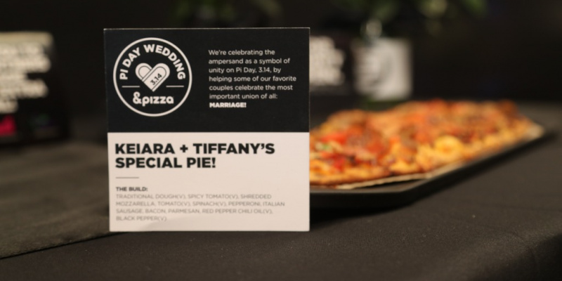 These Couples Celebrated Pi Day By Getting Married at πzza