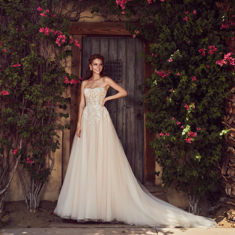 L'amour by Calla Blanche Spring 2019 Wedding Dresses | Wedding Inspirasi