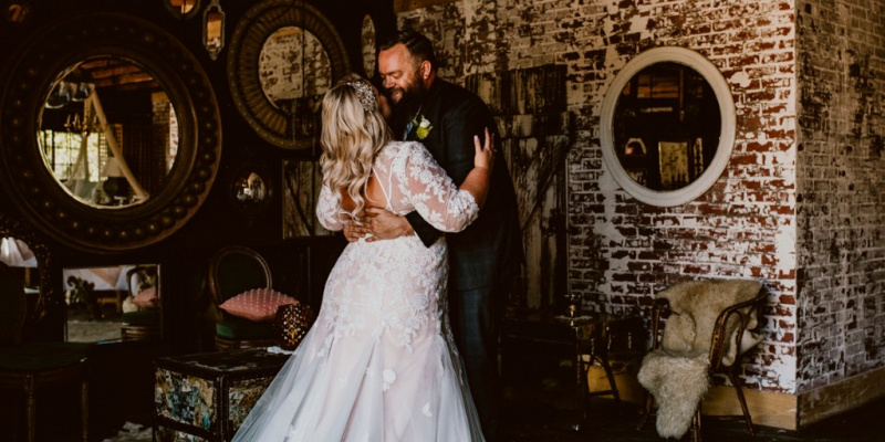 These Curvy Brides Rocked the Aisle In CocoMelody