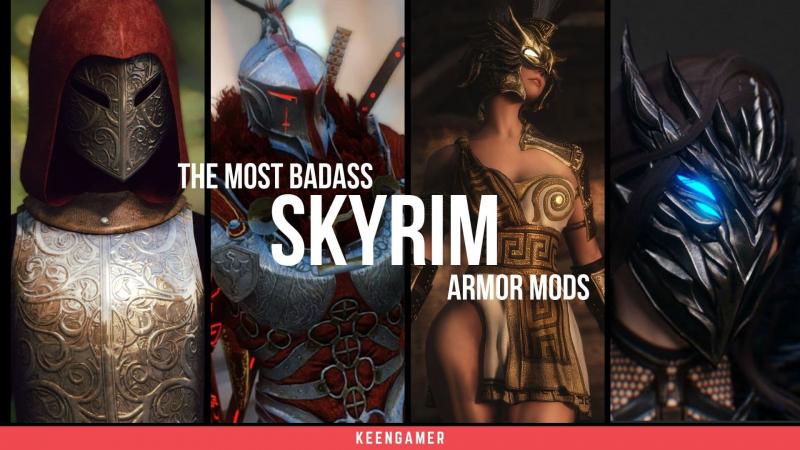 Skyrim armor insanity – Top mods to make you look like a