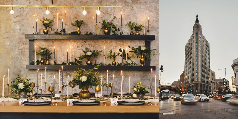 Vintage Modern Chic Ideas For Your Wedding In Chicago