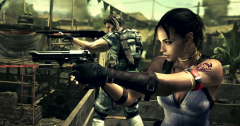 Resident Evil 5 and...