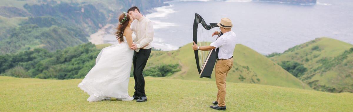 Ryan Villamor Harp Wedding Music / Entertainment