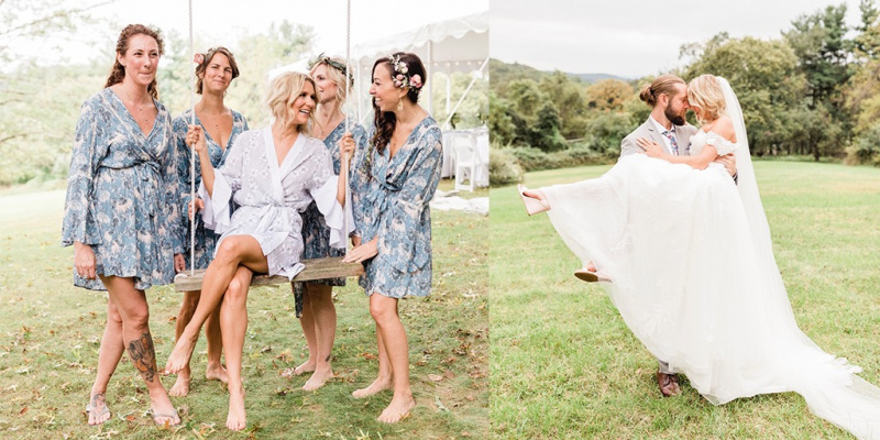How To Have A Chill Garden Party Wedding